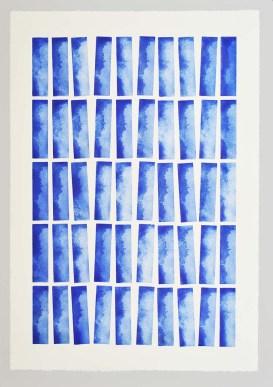 Celare Série KEL Gravure réalisée à l'aide de 5 plaques de 50 impressions