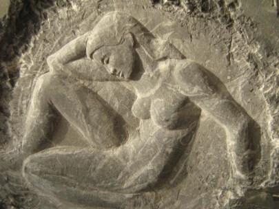 Bas relief en marbre