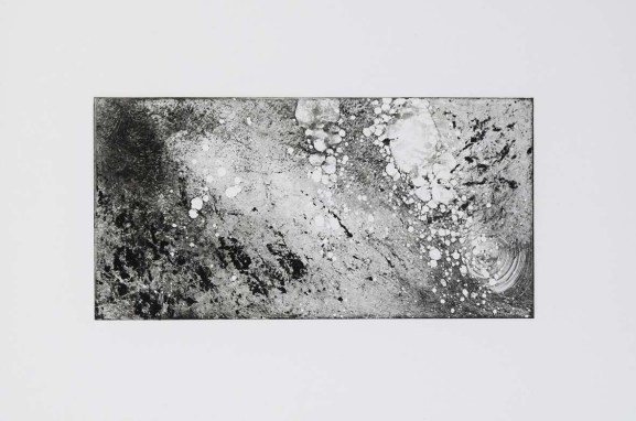 Gravure monotype 9x18cm